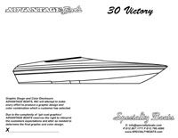 30 Victory Boat Blank